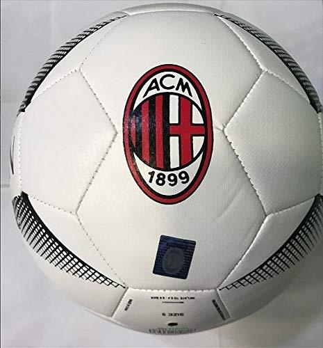 AC Milan Pallone 2021 con Logo e Scritta AC Milan Mini Calcio PRO Ufficiale Misura 2
