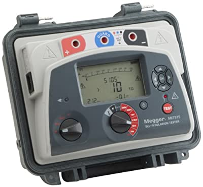 Megger Meter with Data Storage with a NIST-Traceable Calibration Certificate with Data