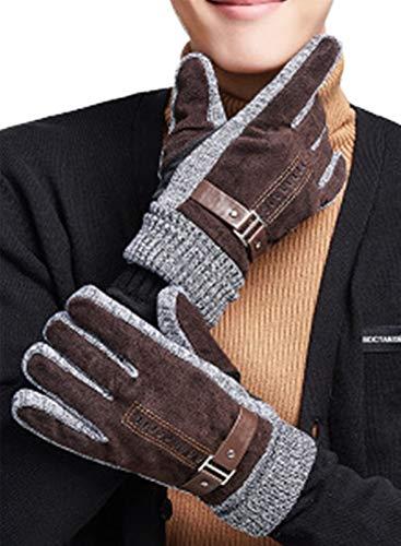CORAFRITZ - Guantes de nieve para hombre, impermeables, resistentes al viento, para motocicleta, ciclismo, equitación, nieve, deportes cálidos, guantes