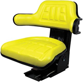 Yellow Tractor Seat For John Deere 820 830 1020 1530 2020 2030 2040 2150 2155