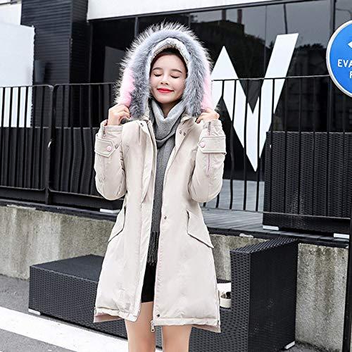WFSDKN Down jas 2019 nieuwe lang naar beneden katoen-gevoerde jas mode jas om warme jas te houden