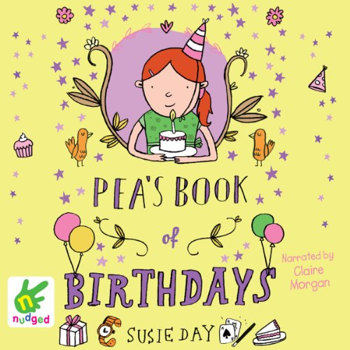 Pea's Book of Birthdays audiobook cover art