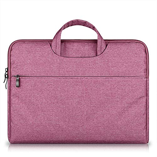 YWSZY Laptop Bag Laptop Handbag Sleeve Case Protective Bag Ultrabook Notebook 13 14 15 15.6 inch Carrying Case for MacBook Air Pro ASUS Acer Dell (Color : Rose, Size : 14 inch)
