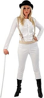 Womens Clockwork Orange Prisoner Film Halloween Fancy Dress Costume