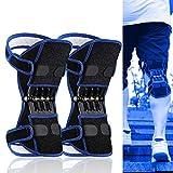 Kompressionskniestütze für Männer Frauen, Beste Einstellbare Kniestütze, Stabilität Gelenk, arthritische Knie, Sport Injury Recovery-chutz,Einheitsgröße,Blau