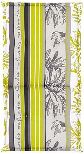 Best 04101640Cuscino per Sedia con Schienale, 100x 50x 7cm, Multicolore