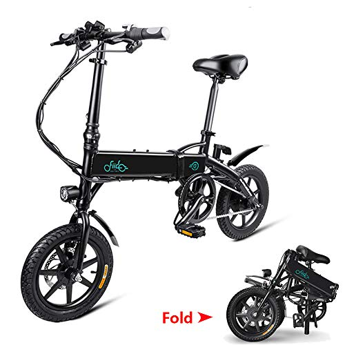 Phaewo Vélo électrique Pliable, Fiido D1 Ebike, 10.4Ah Li-ION Batterie...