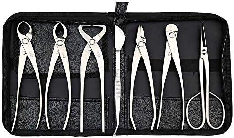 tianbonsai Master s Grade 7 PCS 8 inches Bonsai Tool Set kit JTTK 06B from product image