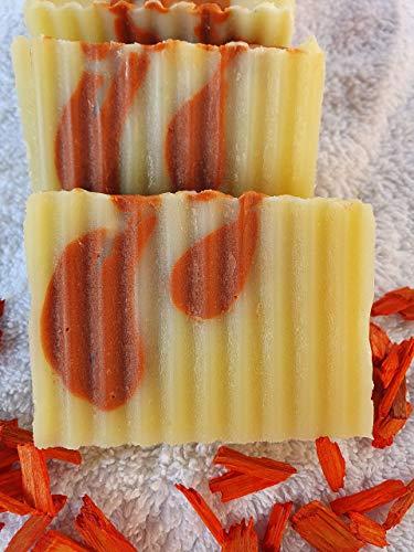 Duschbutter Sandelholz, 15% überfettet für die trockene Haut