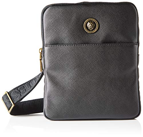 Guess King Workbag, Bags Crossbody Uomo, Black, One Size
