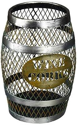 TheopWine Barrel Shaped Wine Cork Holder