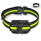 Bark Collar for Dogs, Barking Control Training Collar with Rechargeable Adjustable Sensitivity, Beep Vibration No Harm Shock Anti-Bark Collar for Small Medium Large Dogs