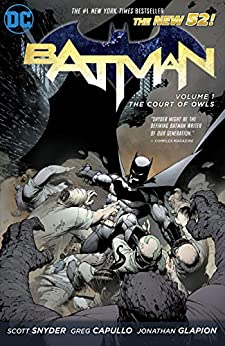 Batman (2011-2016) Vol. 1: The Court of Owls (Batman Graphic Novel) by [Scott Snyder, Greg Capullo]
