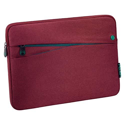 Pedea Tablet PC Tasche Fashion für 10,1-11 Zoll (25,6-27,96 cm) Schutzhülle Etui Hülle mit Zubehörfach, rot