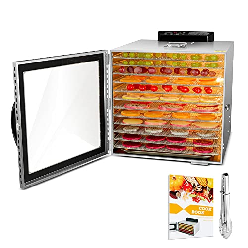 Food Dehydrator, 12 Layers Commercial...