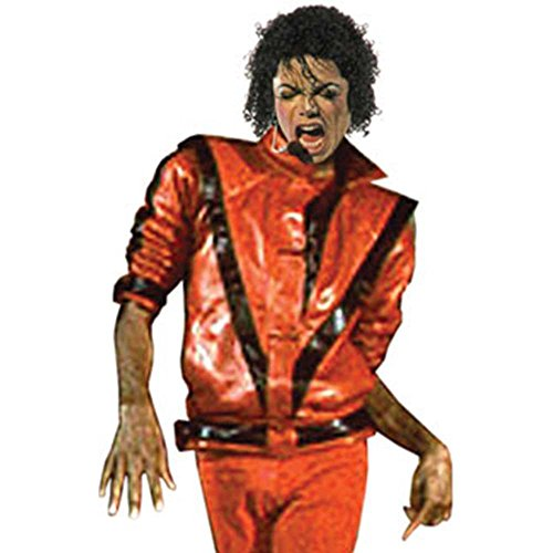 Charades Herrenjacke Michael Jackson Thriller - Mehrfarbig - Large