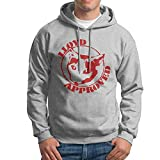 Men's Lloyd Approved Print Sweatshirt Without Pocket Hoodie