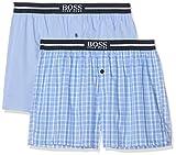 BOSS Nos Boxer EW 2p Bóxers, Azul (Open Blue 471), XX-Large (Pack de 2) para Hombre