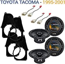 Compatible with Toyota Tacoma 1995-2001 Factory Speaker Replacement Harmony (2) R65 Package New