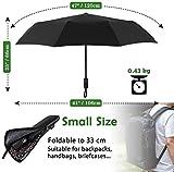 Zoom IMG-1 newdora ombrello portatile automatico antivento