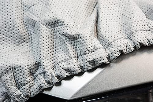 SOFTGARAGE 5-lagig lichtgrau Premium Indoor Outdoor atmungsaktiv wasserabweisend Car Cover Vollgarage Ganzgarage Autoplane Autoabdeckung212010-0600RC1