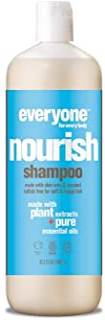 Everyone Hair Sulfate-Free Shampoo, Nourish, 20.3 Ounce