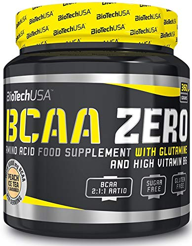 Biotech USA 12031020500 BCAA Flash Zero Acide Aminé Saveur Orange
