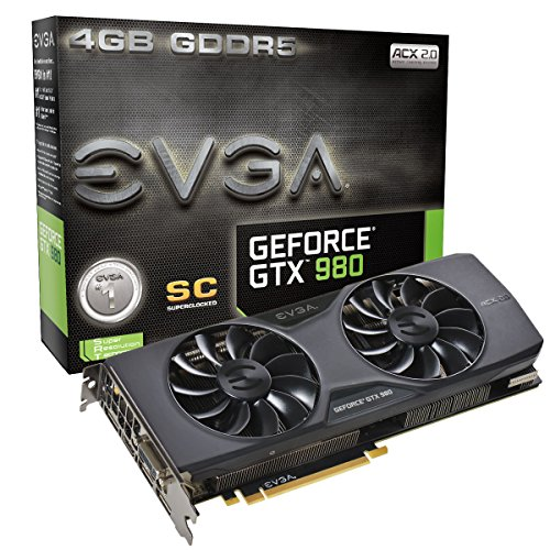 EVGA GeForce GTX 980 04G-P4-2983-KR Superclocked