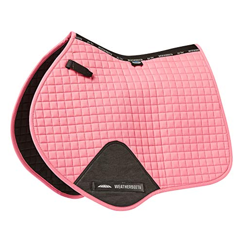 Weatherbeeta Prime Jump Saddle Pad - Bubblegum Pink Full