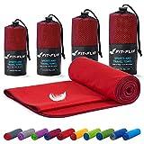 Toalla microfibra – en todos los tamaños / 18 colores – compacta y de secado rápido – toalla microfibra grande...