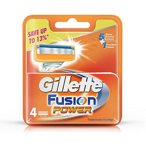 Gillette Fusion Power shaving Razor Blades - 4s Pack (Cartridge)
