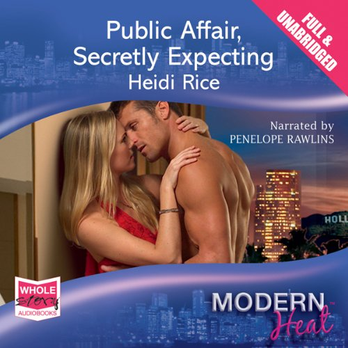 Public Affair, Secretly Expecting audiobook cover art