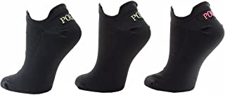 Women's 3-Pairs Double Tab Ankle Socks Sz: 9-11 Fits 4-10.5