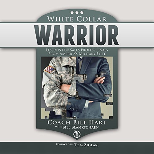 White Collar Warrior audiobook cover art