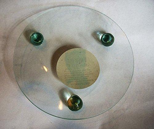 Des coupelles rond verre transparent 10 cm
