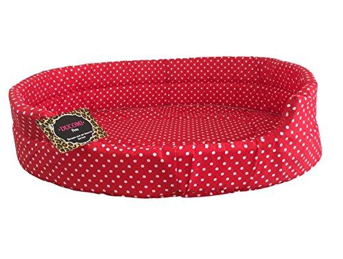 Ducomi - Fufy - Cama para perros y gatos en tejido Oxford - Cucha suave para mascotas - Fácil de lavar