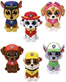 Ty Mini Toy Collectibles Paw Patrol/6 cm Collectable Minifigures Set of 6