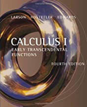 By Ron Larson - Calculus: Early Transcendental Functions: 4th (fourth) Edition