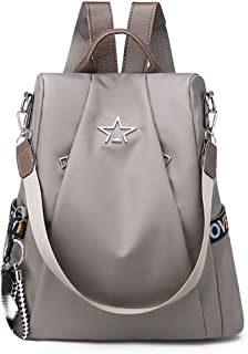 de1bdc93e7 Women s Shoulder Bag Anti-Theft Backpack Personality Wild Oxford Cloth Backpack  Female Bag 32