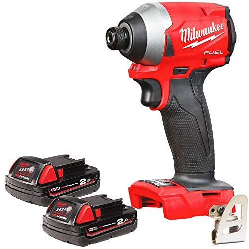 Milwaukee M18FID2 18v M18 Fuel Impact Driver with 2 x 2Ah Batteries