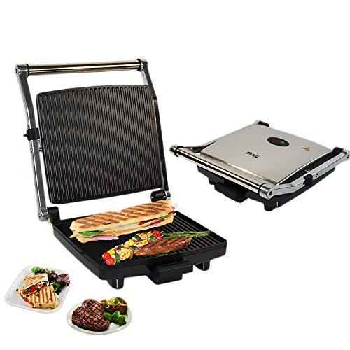 Broodkoker, panini-machine, toast, steak-elektrische oven, gegrilde lekkere hamburgers en gegrild vlees, grote capaciteit, heerlijke barbecue