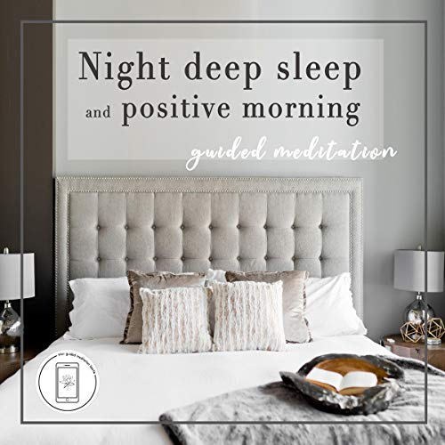『Deep Sleep and Positive Morning Guided Meditation』のカバーアート