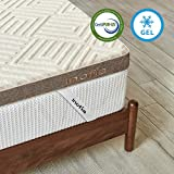 "Inofia King Mattress Topper Gel Memory Foam, 3"" GELEX Bed Topper with Linen"