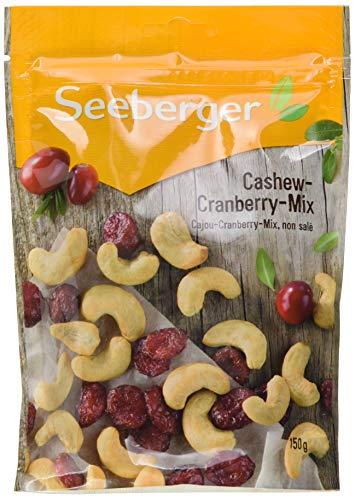 Seeberger Cashew-Cranberry-Mix, 5er Pack (5 x 150 g)