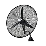 Scenic 750mm Wall Mounted Industrial Fans Metal High Velocity Oscillating 75cm