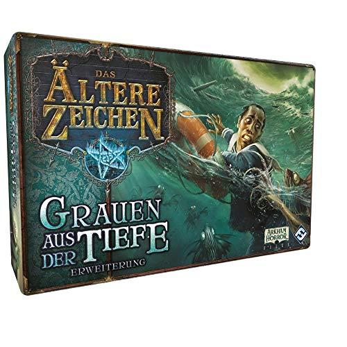 Das Ältere Zeichen - Das Grauen aus der Tiefe - Erweiterung Brettspiel | DEUTSCH | Lovecraft Horror