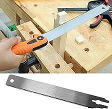 XiaoOu Sierra para Metal Sustitución Manual de la Hoja de Sierra Reemplazo de la Hoja 225P Herramienta para el hogar de carpintería de Dientes Finos Flexibles Maderas