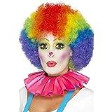 Include Colletto con volant da Clown, rosa Disponibile solo in una taglia Il nostro team dedicato alla sicurezza interna garantisce che tutti i nostri prodotti sono fabbricati e rigorosamente testati per essere conformi alle più recenti norme e norma...