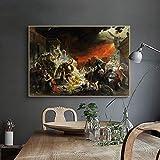 UHvEZ 1000pcs_El último día de la Arquitectura del Paisaje de Pompeya Vida Adulta Sala de Alivio de estrés decoración de Juguetes_50x75cmFrameless