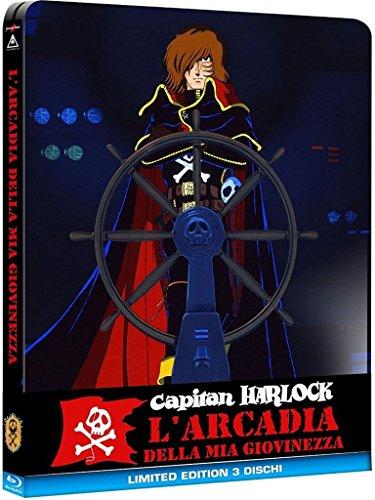 Capitan Harlock - L'Arcadia Della Mia Giovinezza Steelbook (1 Bd + 2 Dvd)